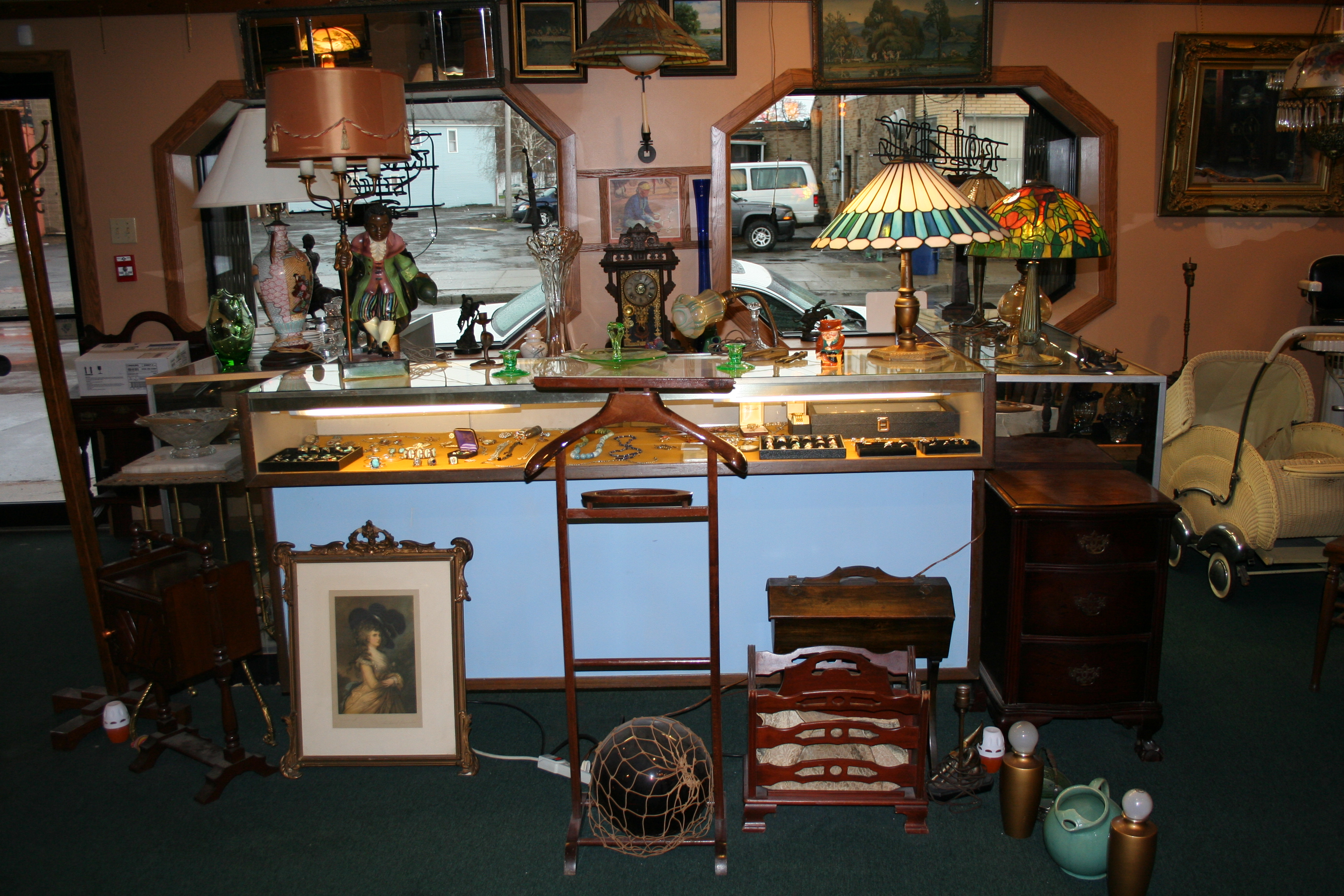 Local Jewelry Stores >> Antiques, Antique Dealer, Vintage Furniture: Buffalo, NY: Side by Side Antiques